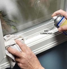 House Repair and Home Maintenance Tips - Lube a Sticking Vinyl Window or Door – House Repair and Home Maintenance Tips: www.fami House Repair and Home Maintenance Tips - Lube a Sticking Vinyl Window or Door – House Repair and Home Maintenance Tips: w. Home Improvement Loans, Home Improvement Projects, Home Projects, Home Renovation, Home Remodeling, Kitchen Remodeling, Remodeling Contractors, Bathroom Renovations, Home Fix