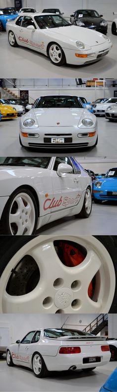 1993 Porsche 968 CS / Germany / white red / Club Sport / 16-78
