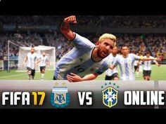 www.fifa-planet.c... - FIFA 17: ARGENTINA vs BRASIL ONLINE Temporadas | GAMEPLAY PS4 Al fin tengo el FIFA 17 genteeee!!!! y que locuraa que fue mi primer partido!!!!! Me gusto bastante la verdad, que mejor que empezar con la Selección Argentina jugando contra la Selección Brasileña!! Espero que les guste, un saludo 😀 Twitter: twitter.com/... Gracias por el banner G... Che