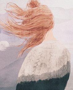 Cloudy Thurstag Illustration