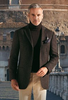Gentleman Style 393572454937561500 - Cesare Attolini – F/W I'm ready for fall/winter 2013 Source by hauckisabel Fashion For Men Over 50, Older Mens Fashion, Old Man Fashion, Mens Fashion Suits, Stylish Men Over 50, Casual Clothes For Men Over 50, Old Man Clothes, Fashion Fashion, Blazer Outfits Men