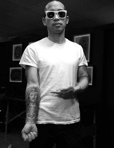 celebrity dj tattoo - Google Search