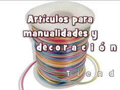 Video Articulos para manualidades y scrapbooking - YouTube