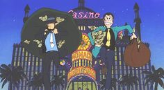 Lupin III: Castle of Cagliostro by Miyazaki Hayao Miyazaki, Animated Heart, Lupin The Third, Movie Guide, Ghibli Movies, Environmental Art, Anime Figures, Manga, Movies Showing