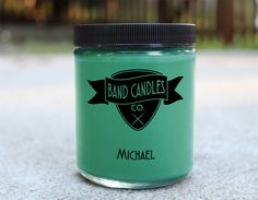 What do you think Michael smells like?: We think he smells like a kid in a japanese candy shop Candle size: 8 oz. 100% Soy Wax Burn Time: Approximately 65 hours Made to order: Please allow 3-5 days for production. U.S. shipping usually takes an additional 2-5 days. International...