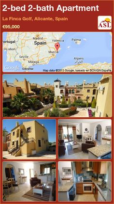 Apartment for Sale in La Finca Golf, Alicante, Spain with 2 bedrooms, 2 bathrooms - A Spanish Life Apartments For Sale, Murcia, Valencia, Alicante Spain, Tapas Bar, Residential Complex, Family Bathroom, Private Garden, Palmas