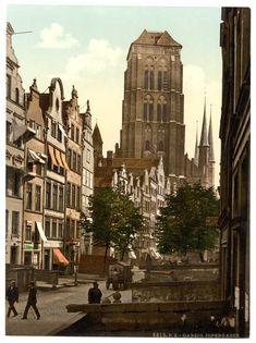 A collection of old postcards of Gdansk (Danzig) in Poland. Danzig, Edinburgh, Glasgow, Gdansk Poland, Bucharest, Berlin Photos, Harbin, Prussia, 5 W