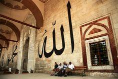 Old mosque in Edirne  Edirne / Turkey