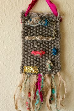 squiished Ravelry, Dream Catcher, Knit Crochet, Weaving, Knitting, Projects, Decor, Art, Log Projects
