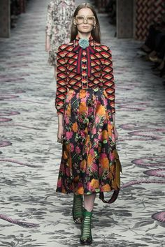 GUCCI Spring/Summer 2016 SS16 Ready To Wear Milan Fashion Week #MFW
