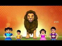 Finger Family Nursery Rhymes | Animal Finger Family Songs Collection | Learn Wild Animals | ChuChuTV - YouTube