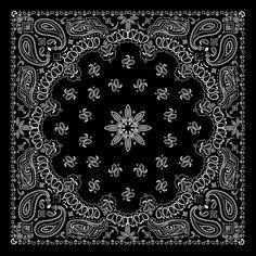 Black with white bandana patterns design vector 03 - https://gooloc.com/black-with-white-bandana-patterns-design-vector-03/?utm_source=PN&utm_medium=gooloc77%40gmail.com&utm_campaign=SNAP%2Bfrom%2BGooLoc
