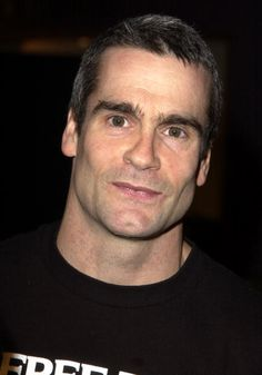 Henry Rollins  Met him on his spokenword tour in Davenport!  What a GREAT show!