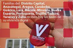 2.191 familias venezolanas reciben hoy las llaves de su vivienda digna de la #GMVV