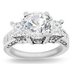 2.50 carat Round Cut Certified Diamond 3 Three-Stone Designer Anniversary Engagement Ring in 18k Gold Center 0.70 Carat D-E VS The Loose Diamond, http://www.amazon.com/dp/B006H9C6GE/ref=cm_sw_r_pi_dp_Fvdhqb136GEGP