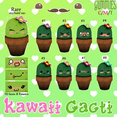Gummies - Kawaii Cacti Gacha | Flickr - Photo Sharing!
