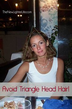 As someone with very curly thick hair, triangle hair is always something I need to avoid... Great tips on how short layers are essential for curly hair. 412 88 ...