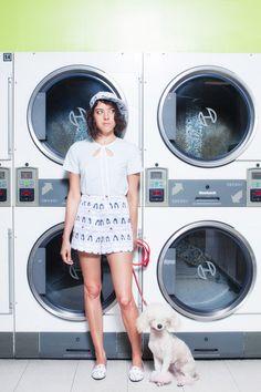 TheVine - Aubrey Plaza in new Rachel Antonoff Spring lookbook - Life & pop culture, untangled