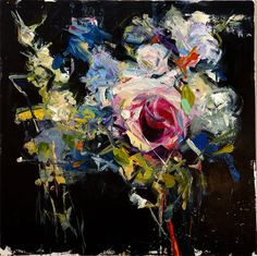 Carmelo-Blandino-10 abstract flowers painting
