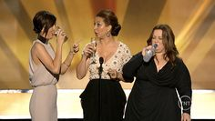 BEST NEW DRINKING GAME    Introducing Bridesmaids, a nominee for Best Cast, Maya Rudolph revealed her favorite game: ''You have to take a drink every time — and I mean every time — you hear the word Scorsese.'' Then Kristen Wiig and Melissa McCarthy name-dropped the director enough times to get everyone wasted.