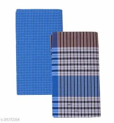 Dhotis, Mundus & Lungis Men's Cotton Lungis (Pack Of 2) Fabric: Cotton Size: 2.25 Mtr Description: It Has 2 Pieces Of Men's Lungis Pattern: Checkered  Sizes Available: Free Size *Proof of Safe Delivery! Click to know on Safety Standards of Delivery Partners- https://ltl.sh/y_nZrAV3  Catalog Rating: ★4.1 (864)  Catalog Name: Trendy Men's Cotton Lungis Combo Vol 4 CatalogID_353285 C66-SC1204 Code: 403-2615084-