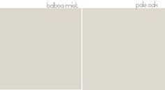 balboa mist & pale oak | color & paint inspirations | Pinterest ...