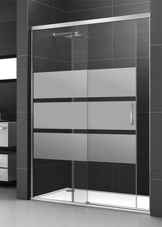 The Best 2019 Interior Design Trends - Interior Design Ideas Glass Shower Doors, Bathroom Doors, Bathroom Furniture, Bathroom Storage, Glass Door, Modern Bathroom, Small Bathroom, Master Bathroom, Bad Inspiration