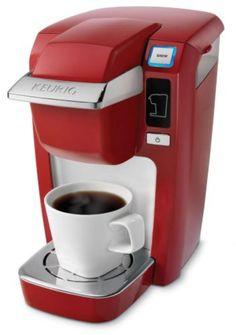 Keurig K10 Mini Plus Brewing System, Red Coffee, Tea & Espresso Appliances - http://amzn.to/2iiPu7K