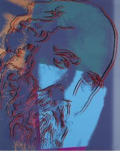 Martin Buber 228 by Andy Warhol #PopArt