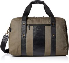 Dopp Men's Hampton Carry-All Duffel-Cotton Twill with Leather Trim *** Details can be found by clicking on the image.