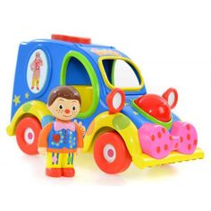 Mr Tumble's Enjoyable Sounds Musical Automobile has over 7 exciting aspects for childrens to play with. Push the bright and vibrant car alongside to listen to engine sounds, press the.