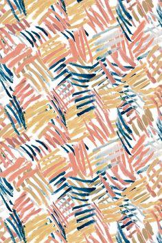 Penseelstreken Wallpaper