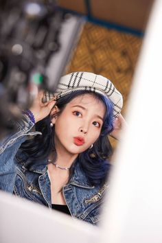 "Click for full resolution. IU ""Blueming"" MV Shooting"