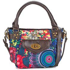 Bolso para llevar al hombro Desigual MINI MCBEE-STRAWBERRY REP Marrón / Multicolor 54.00 €