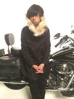 [Alexandros]、川上洋平とバイク