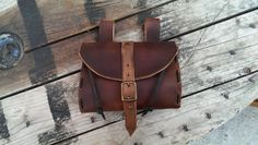 29.49 Medieval Leather Tobacco bag / Belt Pouch by PropCornShop on Etsy