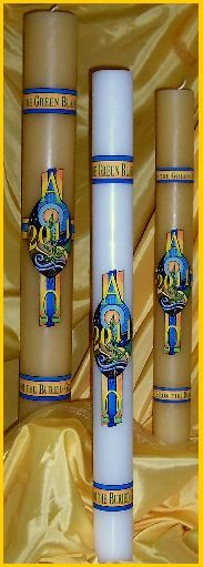 Group of Paschal candles