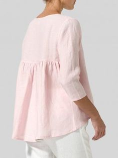 Tunic Blouse, Shirt Blouses, Tunic Tops, Shirts, Mode Outfits, Fashion Outfits, Loose Tops, Plus Size Blouses, Types Of Sleeves