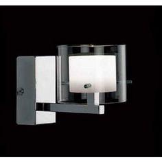 Cuba Wall Light - Chrome - 10cm