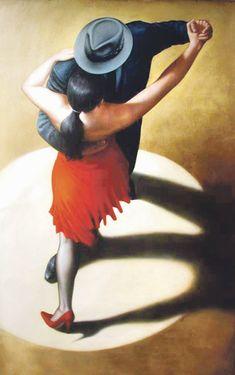"Il mondo di Mary Antony: ""The dancers"" in arte contemporanea Shall We Dance, Lets Dance, Tango Art, Tango Dancers, Dance Paintings, The Embrace, Argentine Tango, Ballroom Dancing, Swing Dancing"