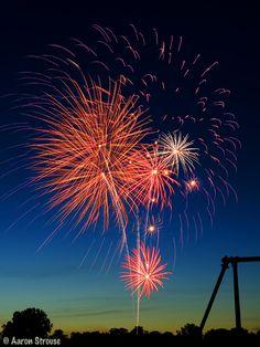 Clare, Michigan Fireworks