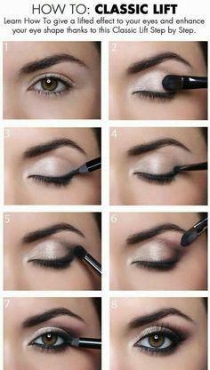 Make up classic lift❤