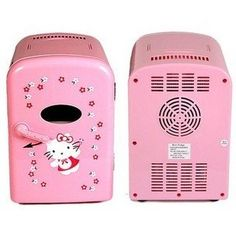 Mini Refrigerator Cooling And Warm Modes Hello Kitty 4l For Both Car Use