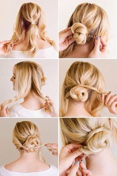 Easy Romantic Low Bun Tutorial