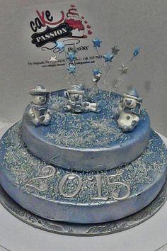 Welcome 2015 cake - Torta benvenuto 2015