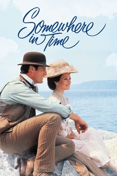 Somewhere in Time (1980) Christopher Reeve and Jane Seymour in a wonderful romantic movie. Description from pinterest.com. I searched for this on bing.com/images