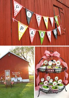 Picnic Parade Party PRINTABLE FULL by theCreativeOrchard on Etsy