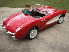 corvette pedal car | 1500 for a '53 Corvette pedal car? JEEESH - Corvette Forum ...