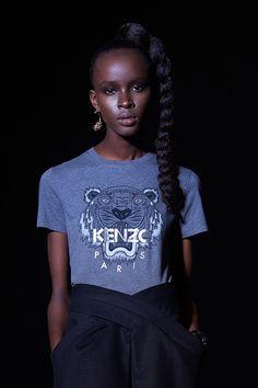 Tiger argenté pour elle Kenzo - Tshirts & Chemises Kenzo Femme - E-Shop Kenzo