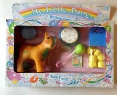 ✩ My Little Pony ✩ G1 European MIB Tutti Frutti VHTF #Hasbro